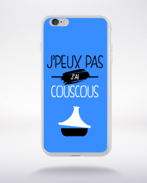 Coque j'peux pas j'ai couscous 3 compatible iphone 6 transparent