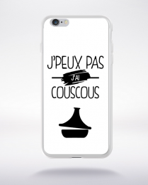 Coque j'peux pas j'ai couscous 1 compatible iphone 6 transparent