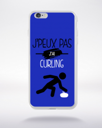 Coque j'peux pas j'ai curling 12 compatible iphone 6 transparent
