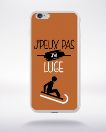 Coque j'peux pas j'ai luge 7 compatible iphone 6 transparent