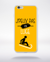 Coque j'peux pas j'ai luge 10 compatible iphone 6 transparent