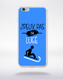 Coque j'peux pas j'ai luge 3 compatible iphone 6 transparent
