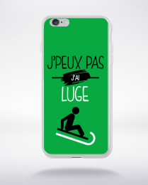 Coque j'peux pas j'ai luge 11 compatible iphone 6 transparent