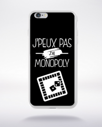 Coque j'peux pas j'ai monopoly 2 compatible iphone 6 transparent