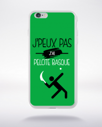Coque j'peux pas j'ai pelote basque 11 compatible iphone 6 transparent