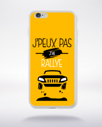 Coque j'peux pas j'ai rallye 10 compatible iphone 6 transparent