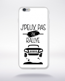 Coque j'peux pas j'ai rallye 1 compatible iphone 6 transparent