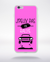 Coque j'peux pas j'ai rallye 6 compatible iphone 6 transparent