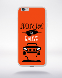 Coque j'peux pas j'ai rallye 5 compatible iphone 6 transparent