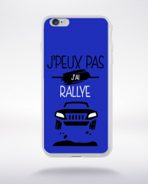 Coque j'peux pas j'ai rallye 12 compatible iphone 6 transparent