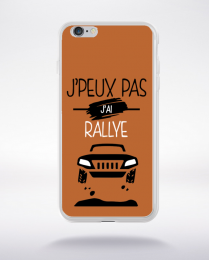 Coque j'peux pas j'ai rallye 7 compatible iphone 6 transparent