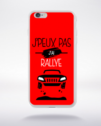Coque j'peux pas j'ai rallye 9 compatible iphone 6 transparent