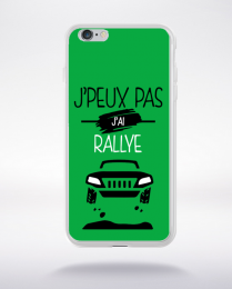 Coque j'peux pas j'ai rallye 11 compatible iphone 6 transparent