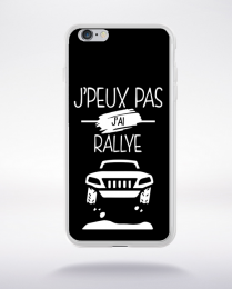 Coque j'peux pas j'ai rallye 2 compatible iphone 6 transparent