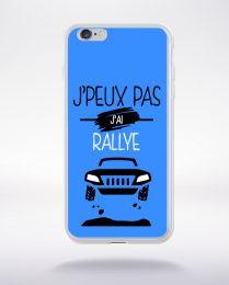 Coque j'peux pas j'ai rallye 3 compatible iphone 6 transparent