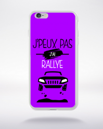 Coque j'peux pas j'ai rallye 8 compatible iphone 6 transparent