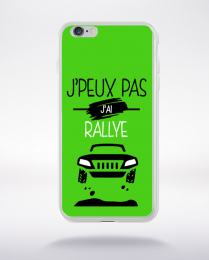Coque j'peux pas j'ai rallye 4 compatible iphone 6 transparent