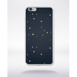 Coque la nuit en dessin 4 compatible iphone 6 transparent