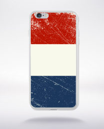 Coque drapeau vintage 2 france euro 2016 compatible iphone 6 transparent