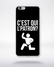 Coque c'est qui l'patron (1) compatible iphone 6 transparent