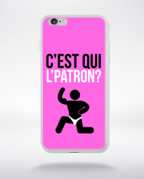 Coque c'est qui l'patron (9) compatible iphone 6 transparent