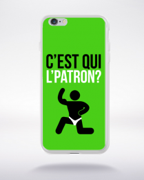 Coque c'est qui l'patron (11) compatible iphone 6 transparent