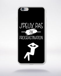 Coque j'peux pas j'ai procrastination 2 compatible iphone 6 transparent