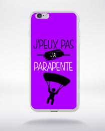 Coque j'peux pas j'ai parapente 8 compatible iphone 6 transparent