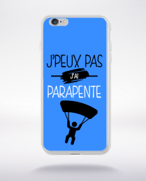 Coque j'peux pas j'ai parapente 3 compatible iphone 6 transparent