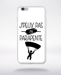 Coque j'peux pas j'ai parapente 1 compatible iphone 6 transparent