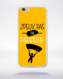 Coque j'peux pas j'ai parapente 10 compatible iphone 6 transparent