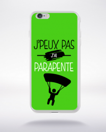 Coque j'peux pas j'ai parapente 4 compatible iphone 6 transparent