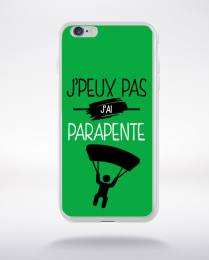 Coque j'peux pas j'ai parapente 11 compatible iphone 6 transparent