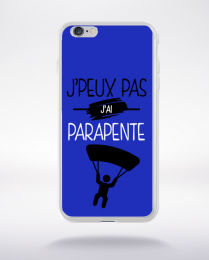 Coque j'peux pas j'ai parapente 12 compatible iphone 6 transparent