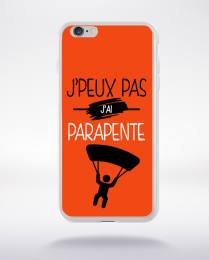 Coque j'peux pas j'ai parapente 5 compatible iphone 6 transparent