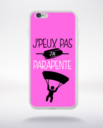 Coque j'peux pas j'ai parapente 6 compatible iphone 6 transparent