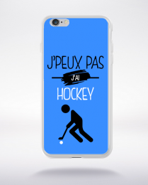 Coque j'peux pas j'ai hockey 3 compatible iphone 6 transparent