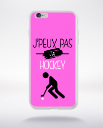 Coque j'peux pas j'ai hockey 6 compatible iphone 6 transparent