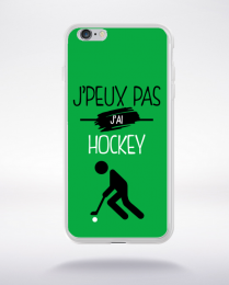 Coque j'peux pas j'ai hockey 11 compatible iphone 6 transparent