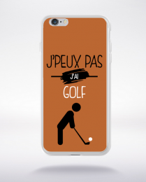 Coque j'peux pas j'ai golf 7 compatible iphone 6 transparent