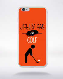 Coque j'peux pas j'ai golf 5 compatible iphone 6 transparent