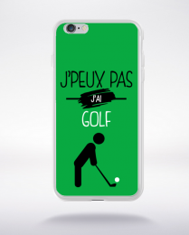 Coque j'peux pas j'ai golf 11 compatible iphone 6 transparent