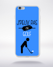 Coque j'peux pas j'ai golf 3 compatible iphone 6 transparent