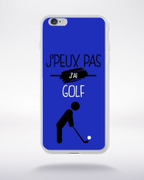 Coque j'peux pas j'ai golf 12 compatible iphone 6 transparent