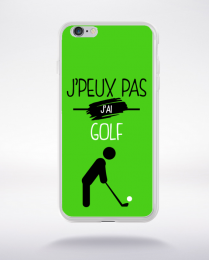 Coque j'peux pas j'ai golf 4 compatible iphone 6 transparent