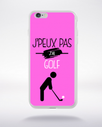 Coque j'peux pas j'ai golf 6 compatible iphone 6 transparent