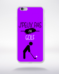 Coque j'peux pas j'ai golf 8 compatible iphone 6 transparent