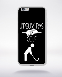 Coque j'peux pas j'ai golf 2 compatible iphone 6 transparent