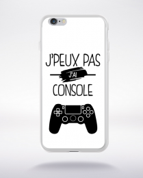 Coque j'peux pas j'ai console 1 compatible iphone 6 transparent
