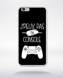 Coque j'peux pas j'ai console 2 compatible iphone 6 transparent